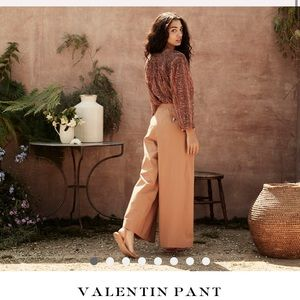 NWT Doen Valentin pants in camel size 4